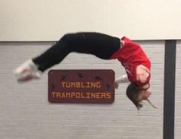 Trampolining coach - Liv