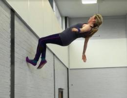 Trampolining coach - Jodie