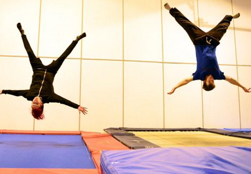 Our trampolining club - Why trampolining?