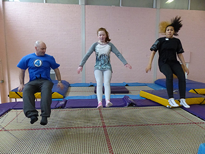 Our trampolining club - How to get involved