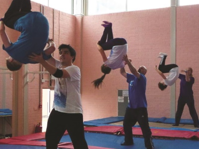 Our trampolining club - what we do