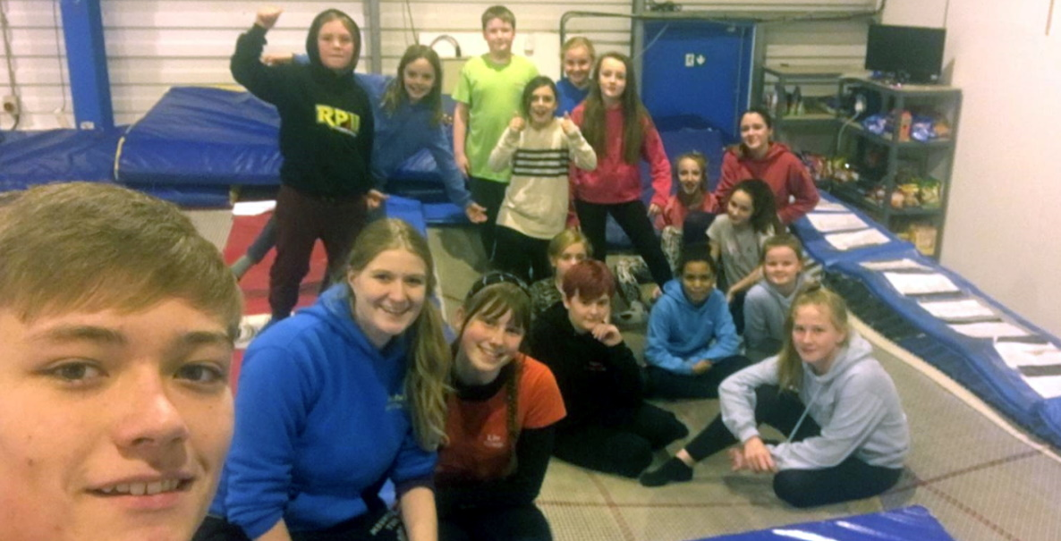 Trampolining coach - Young Leaders